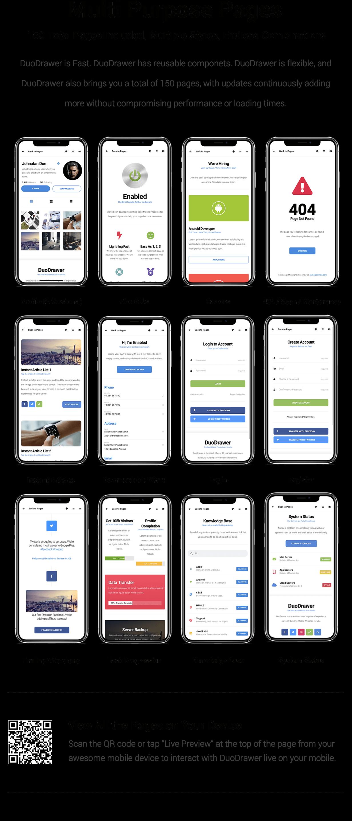 DuoDrawer Mobile   PhoneGap & Cordova Mobile App - 13