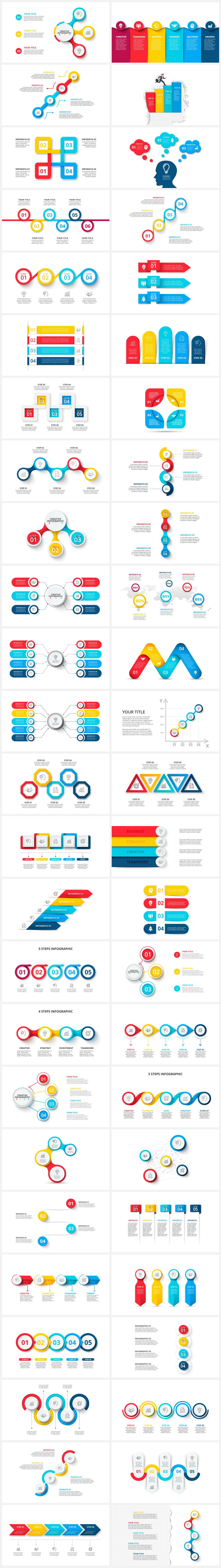Multipurpose Infographics PowerPoint Templates v.5.0 - 115