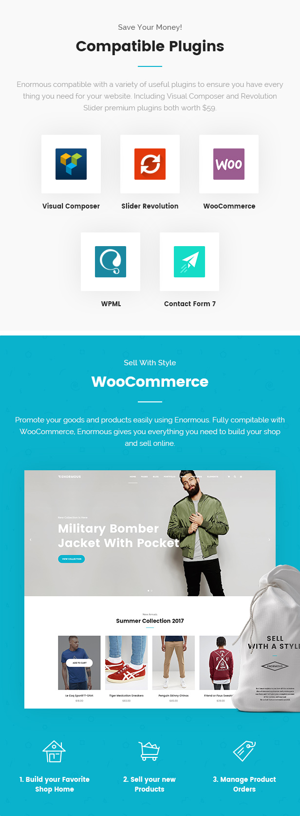 Enormous Business - Responsive Multi-Purpose WordPress Theme - 7