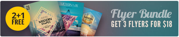 Geometric Flyer Bundle Vol.02