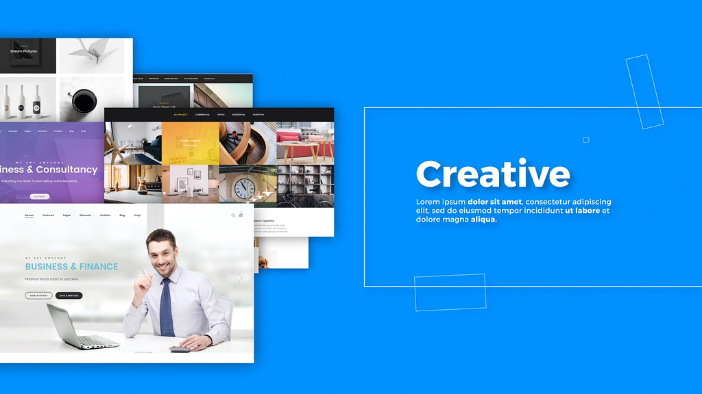 Creative Agency // Website Presentation - 7