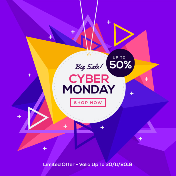 WebPanda Special Discount on Cyber Monday
