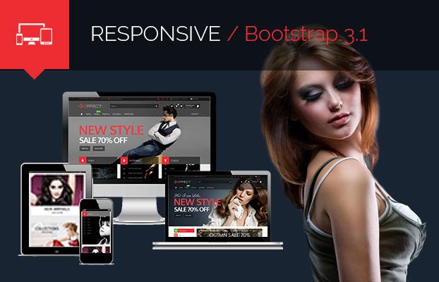 Effect - Responsive E-Commerce Template - 1