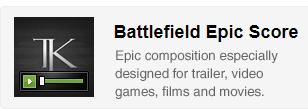 Battlefield Epic Score