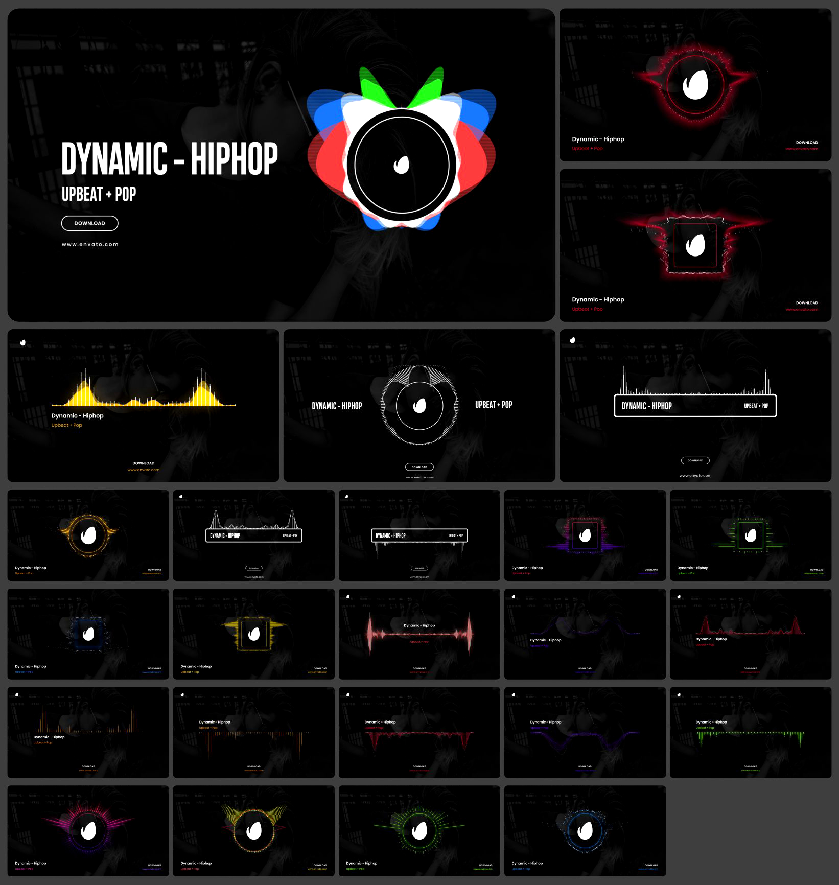 Graphics Pack | 3300+ Animations - 50