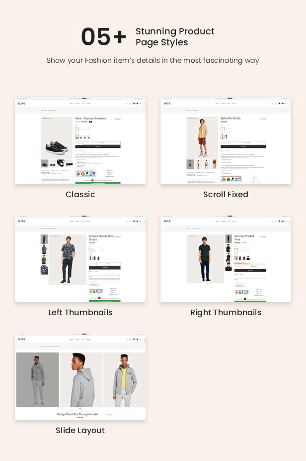 QOS - eCommerce Shopify Theme