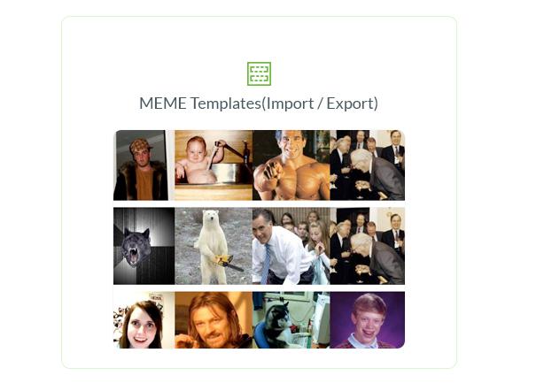 Ultimate Meme Generator - WordPress Plugin - 6