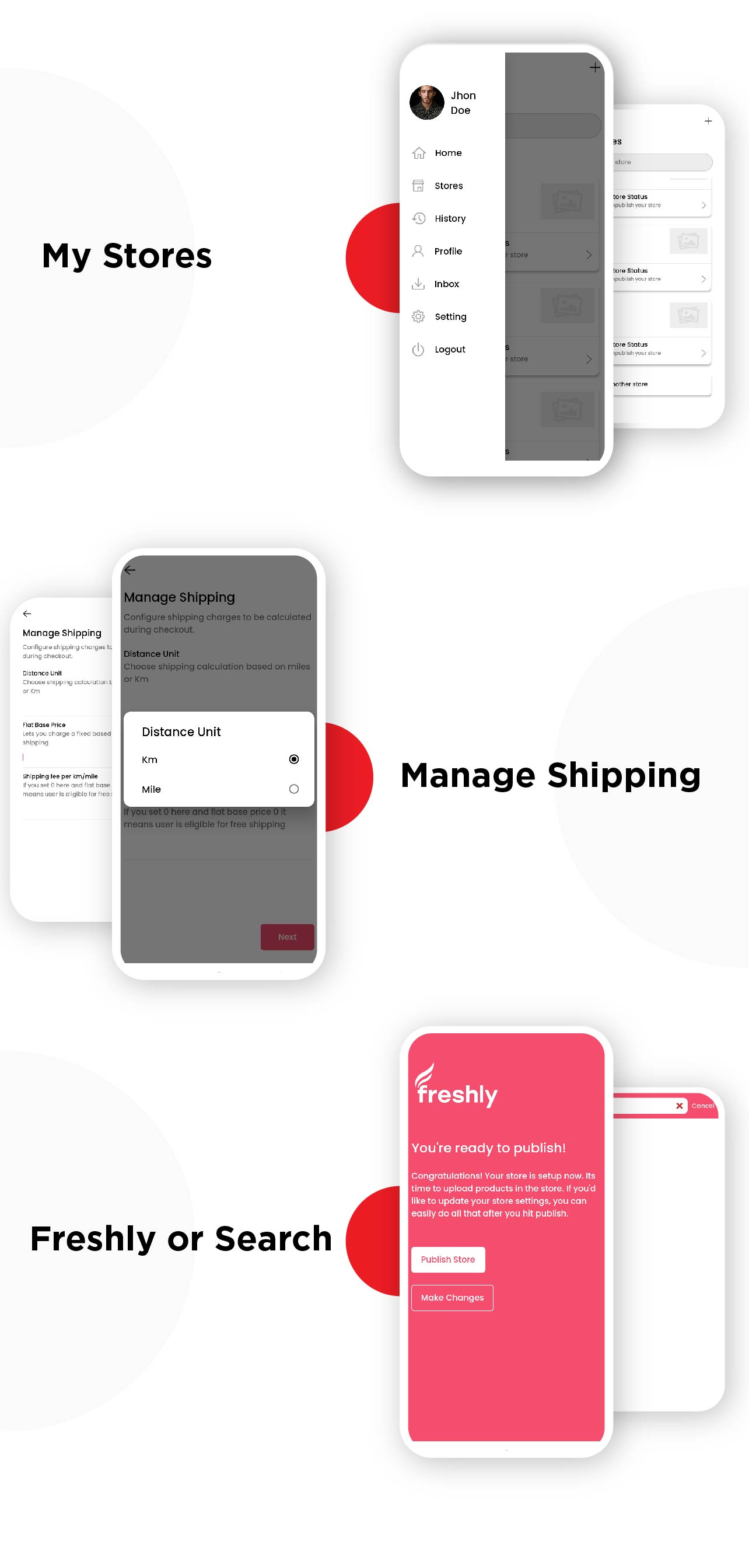 Freshly - Grocery Flutter App UIKIT Customer, Rider And Store All In One - 3