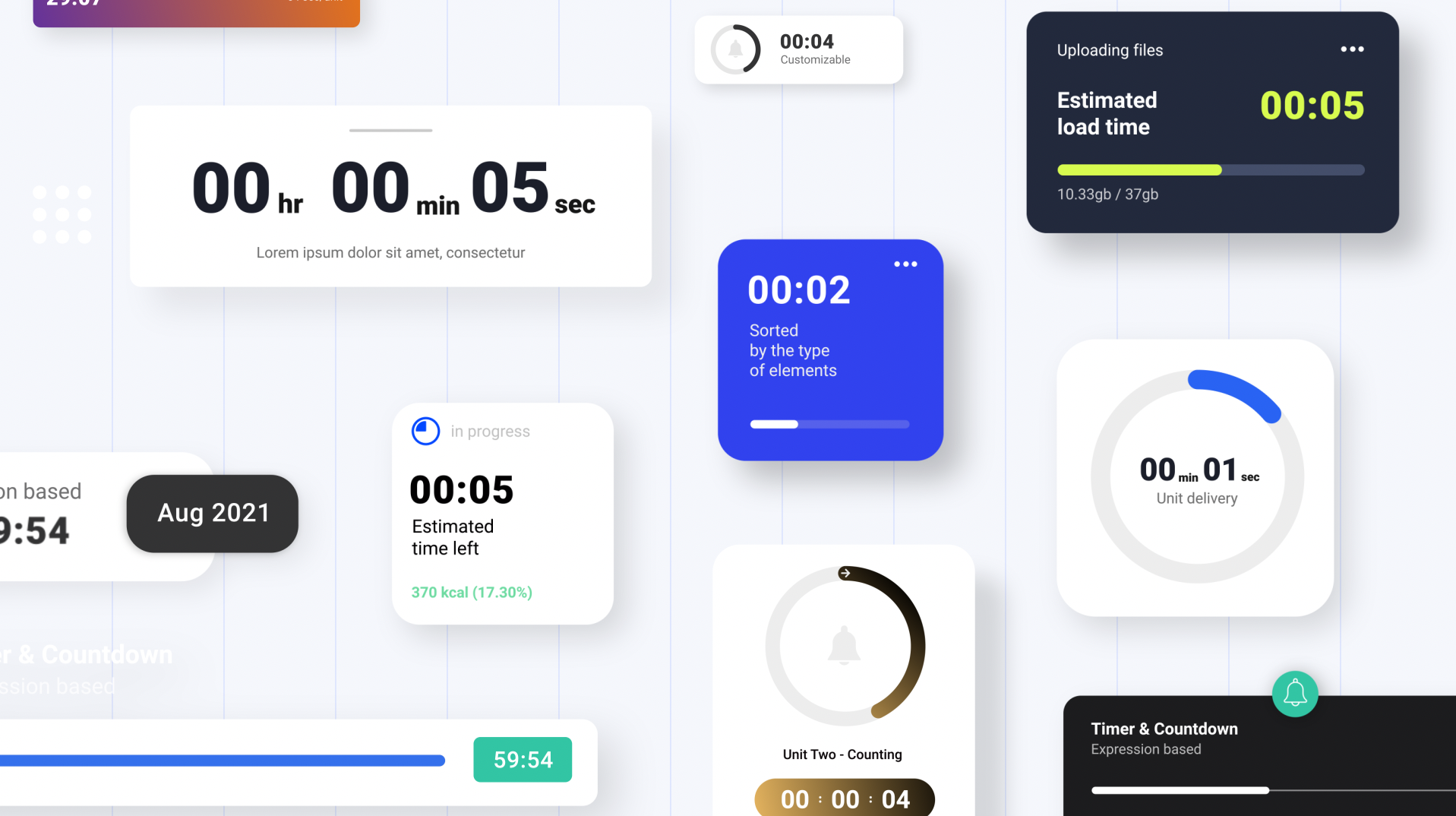 Countdowns & Timers Pack - 1