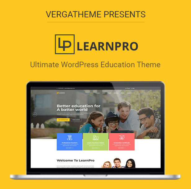 LearnPro - Education WordPress Theme