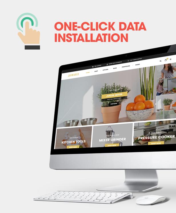 Responsive Technology WooCommerce WordPress Theme One-click installation