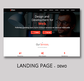 Software, Technology & Business Bootstrap Html Template - Jekas - 13