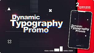 Dynamic Typography Promo