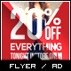 Holiday Sale Billboard Roll-Up Outdoor Banner - 3