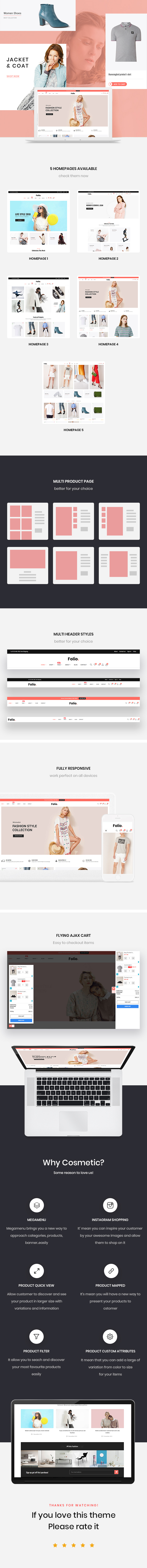 Folio - Trendy Fashion Prestashop Theme