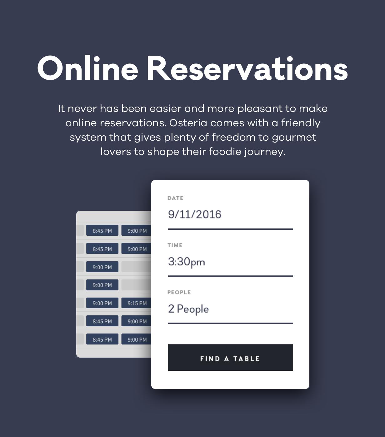 Osteria - An Engaging Restaurant WordPress Theme - 6
