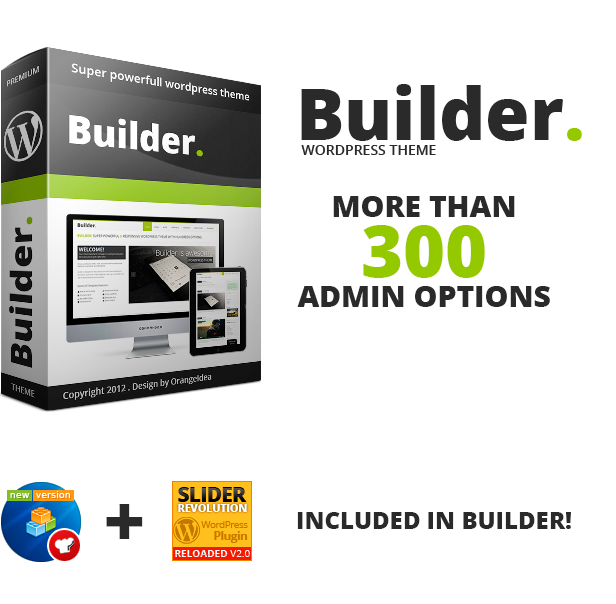 BUILDER - Responsive Multi-Purpose Theme by OrangeIdea | ThemeForest