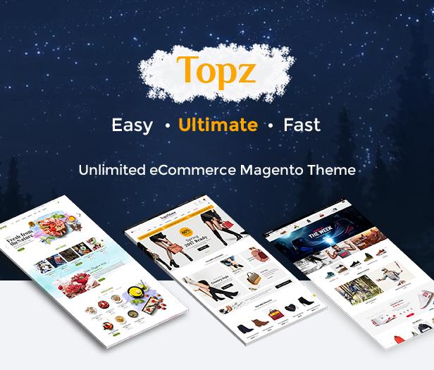 TopzStore - Homepage
