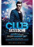 Club Session Flyer
