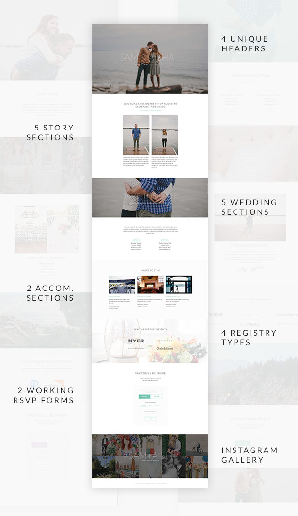 Union - Wedding and Event WordPress Theme for Variant & Visual Composer - 3