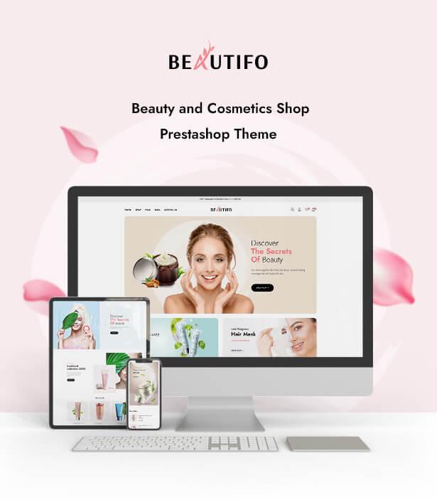 Leo Beautifo Appealing beauty & cosmetics shop Prestashop theme