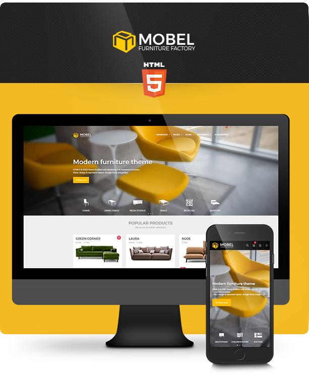 Furniture U0026 Interior HTML Website Template