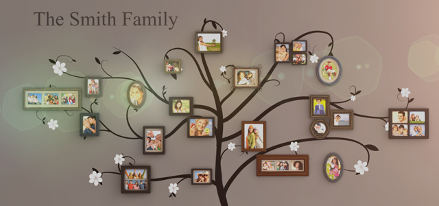 Family Tree Photo Wall family tree wall galleryfacade | videohive