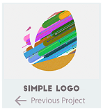 Simple Flat Logo Reveal