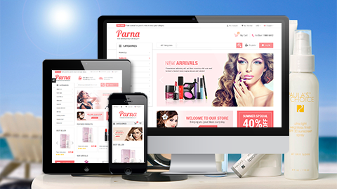 Parna- Fully Responsive
