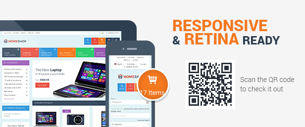 Home Shop - Retail HTML5 & CSS3 Template - 1