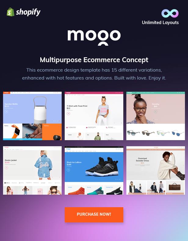 Mogo - purchase premium Shopify theme