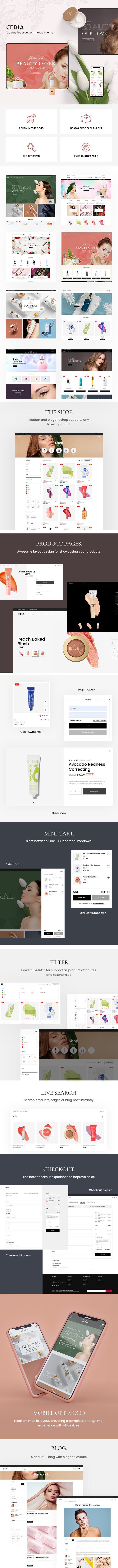 Cerla – Cosmetics WooCommerce WordPress Theme - 1