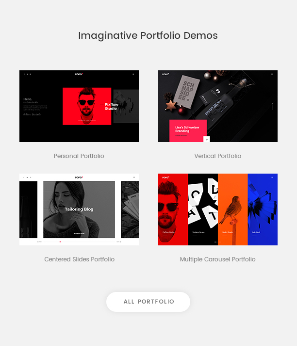 Pofo - Creative Agency, Corporate and Portfolio Multi-purpose Template - 8