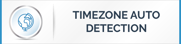 Time Zone Auto Detection Feature
