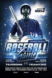 101-Baseball-game-flyer
