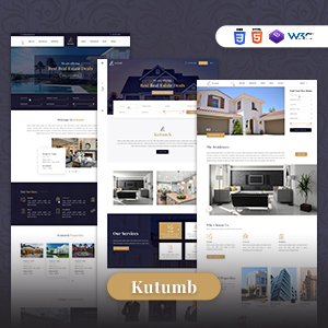 Kutumb - Responsive Real Estate HTML Template