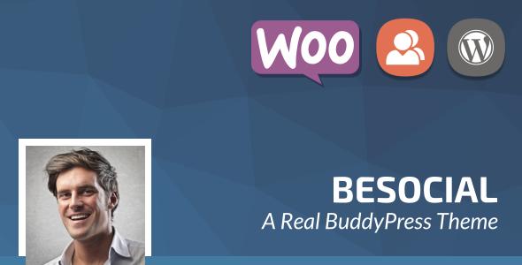 Besocial BuddyPress theme