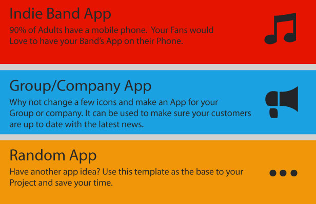 Musician - A Music Band Android App - 8
