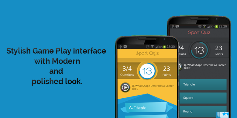 Quiz iOS & Android Game/App with Backend. - 1