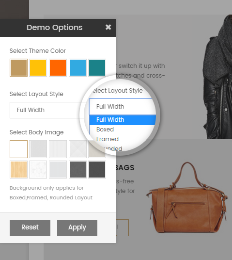 Styleshop - Theme Customization