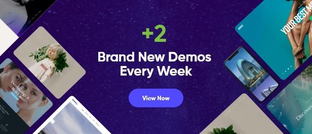 New demos release every 2 weeks