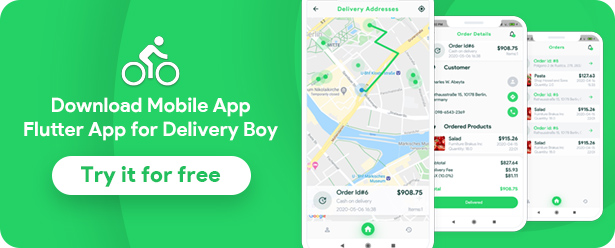 Grocery, Food, Pharmacy, Store Delivery Mobile App with Admin Panel - 18