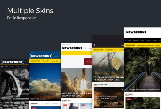 NewsFront: Blog, News & Editorial eCommerce WordPress Theme - 7