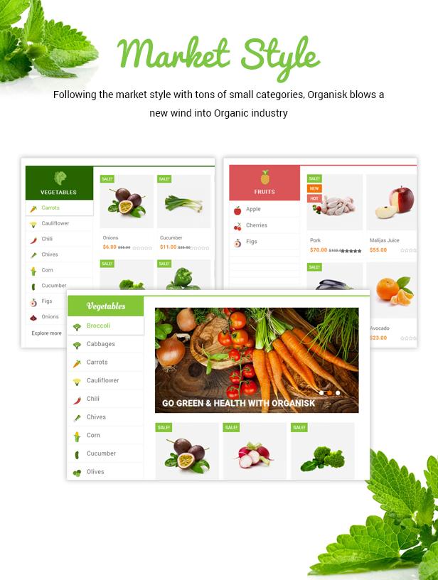 Organisk - Multipurpose Organic WooCommerce Theme - 5