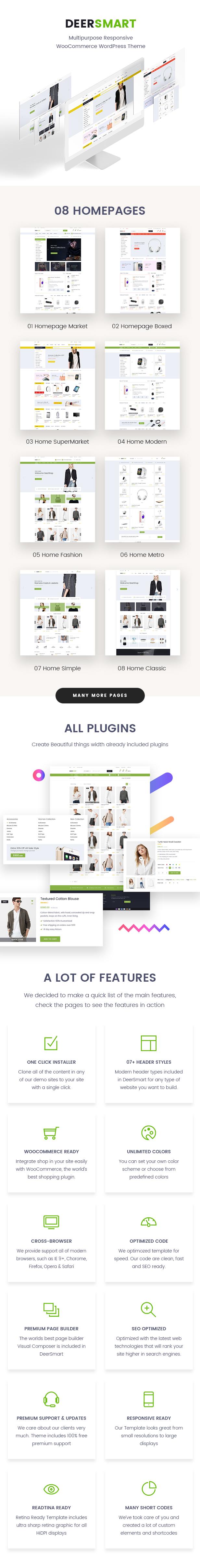 DeerSmart - Multipurpose Responsive WooCommerce WordPress Theme - 2