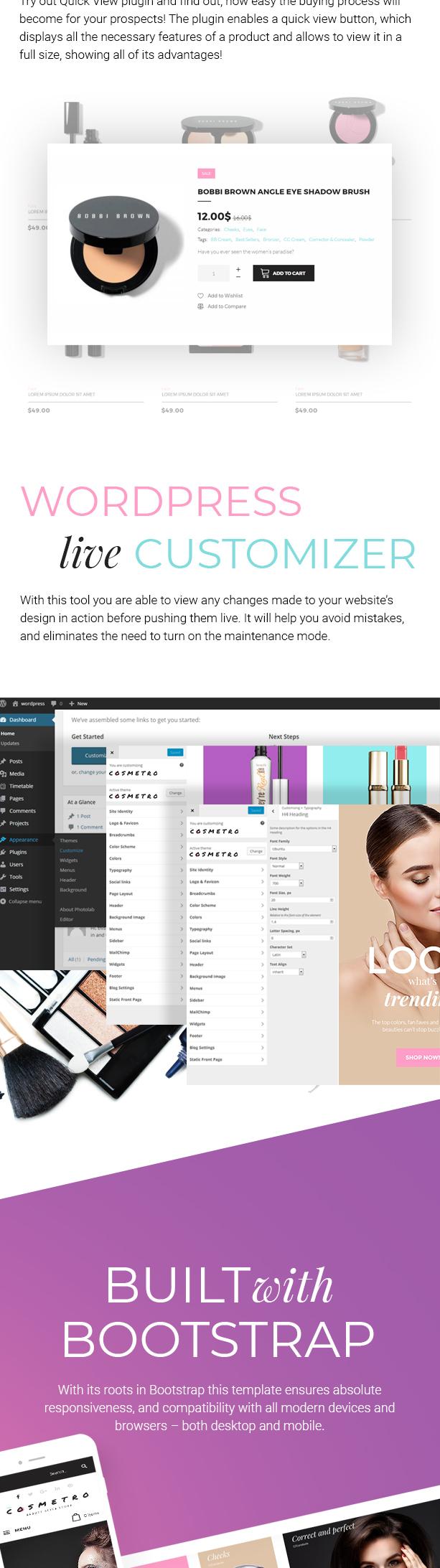 Cosmetro - Cosmetics Store Elementor WooCommerce Theme - 6