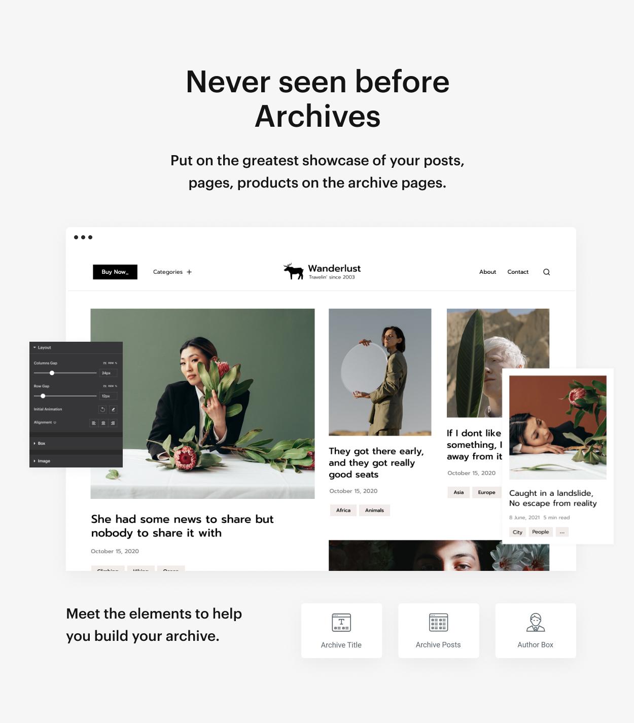 Kaon WordPress Theme - Archive
