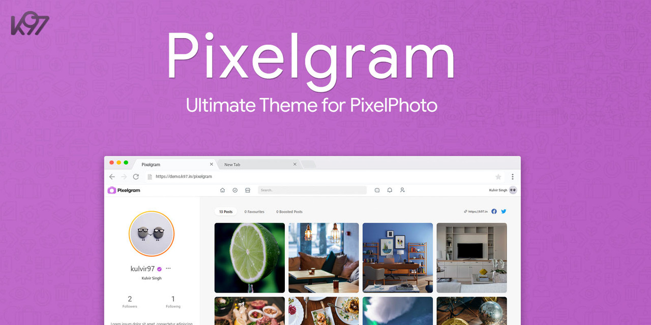 PixelPhoto - The Ultimate Image Sharing & Photo Social Network Platform - 3
