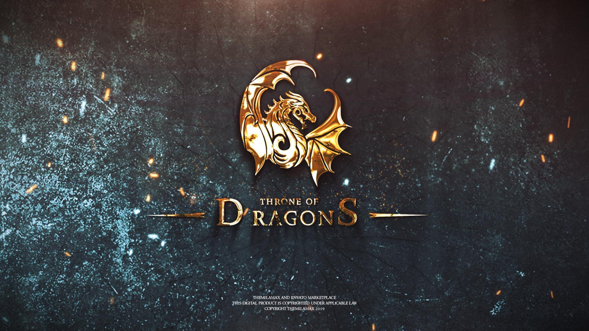 Epic Fantasy Logo Reveal - 5