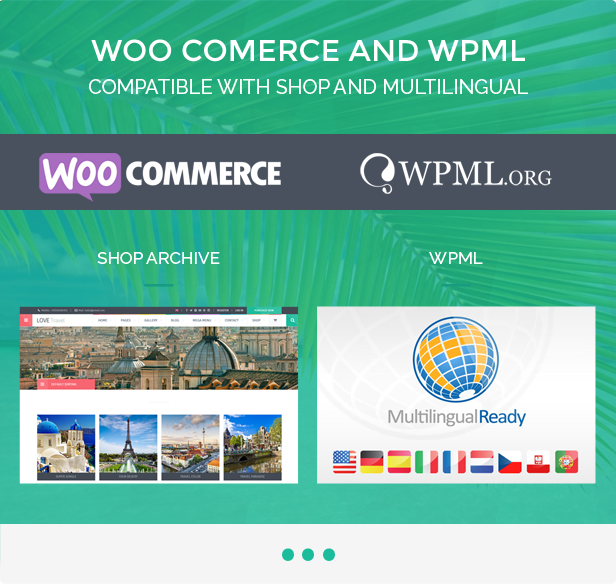 Love Travel - Creative Travel Agency WordPress - 6